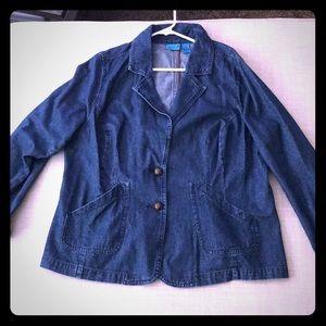 Perfect fit jean jacket